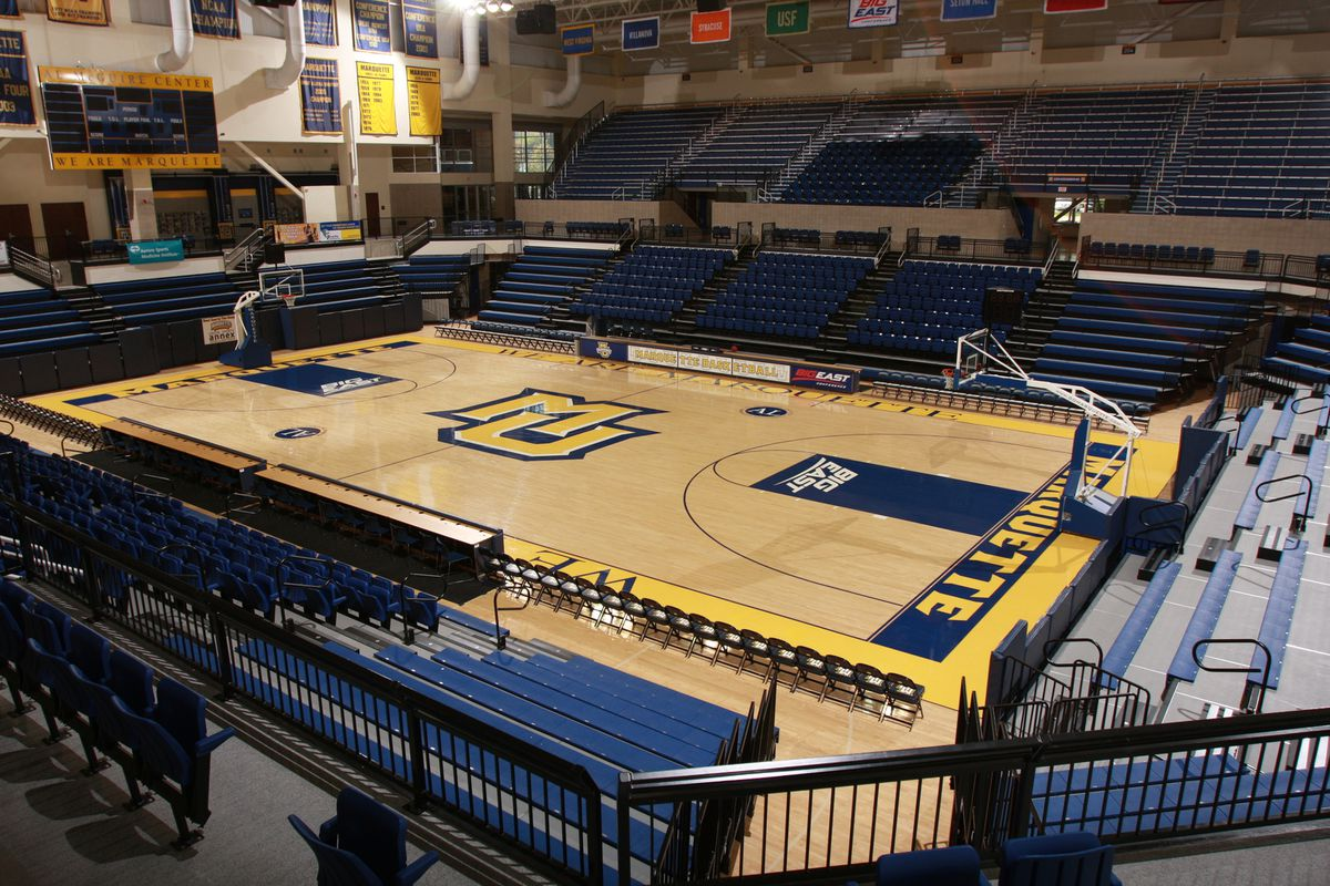 We gotta get some updated pictures of the McGuire Center Arena.