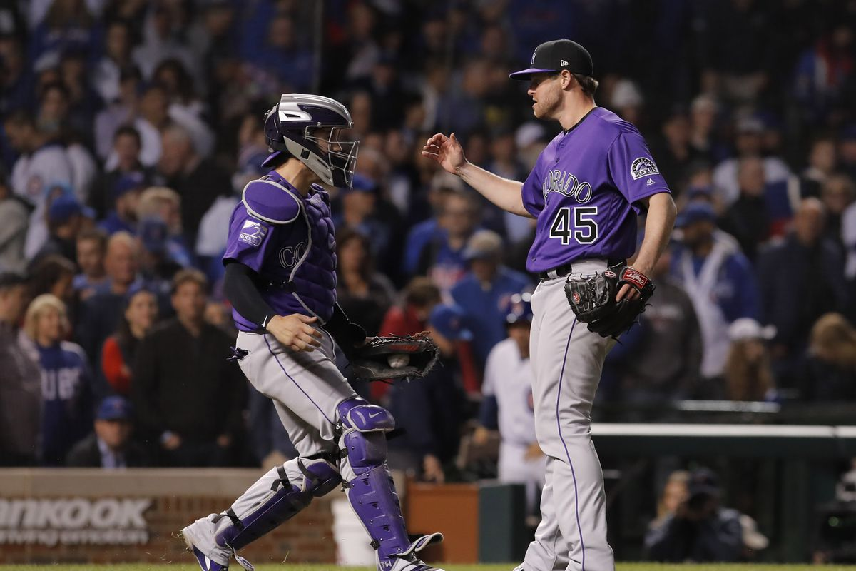 Rockies Vs Cubs Nl Wild Card Game Results Rockies Win 2 1