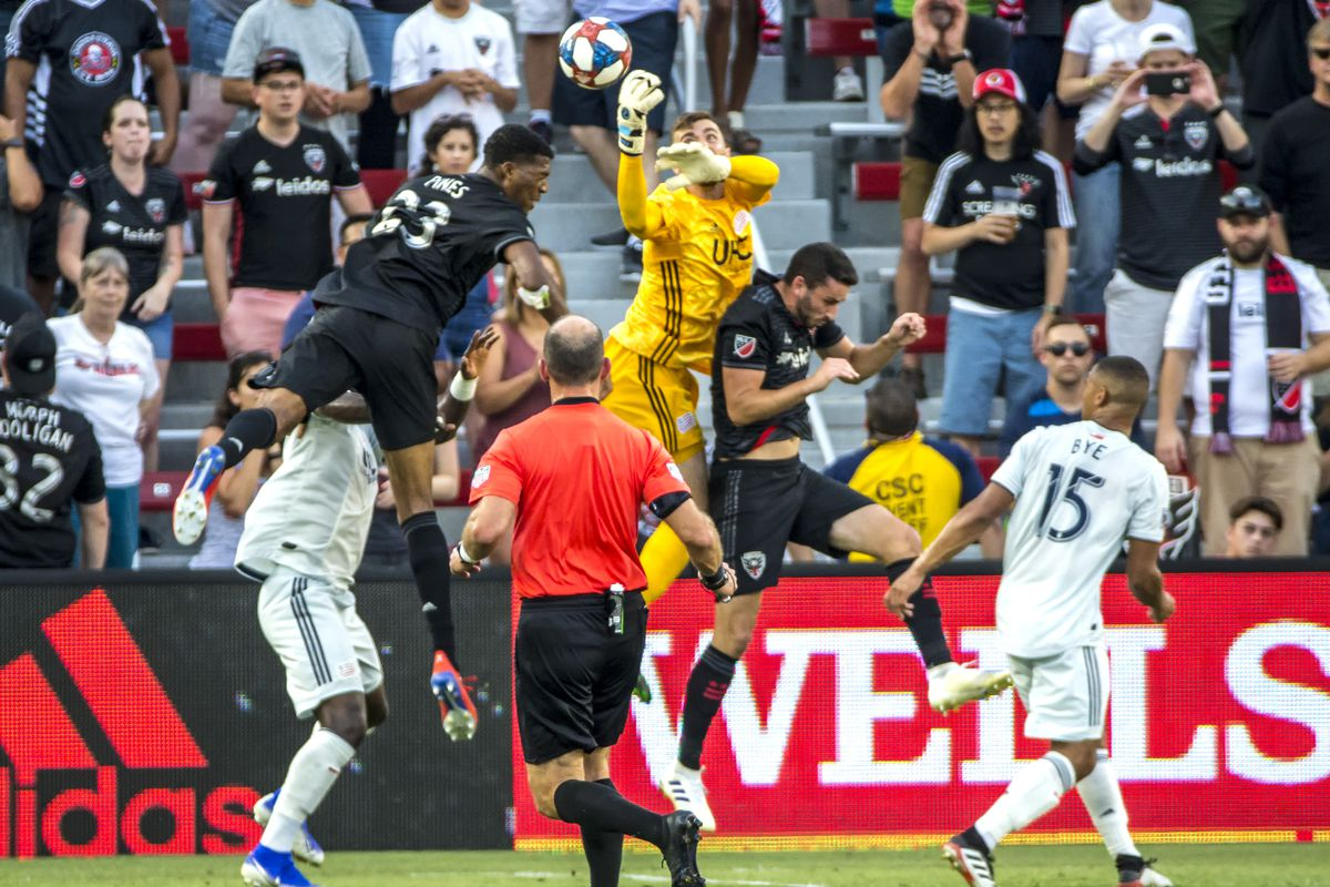 SOCCER: JUL 12 MLS - New England Revolution at DC United