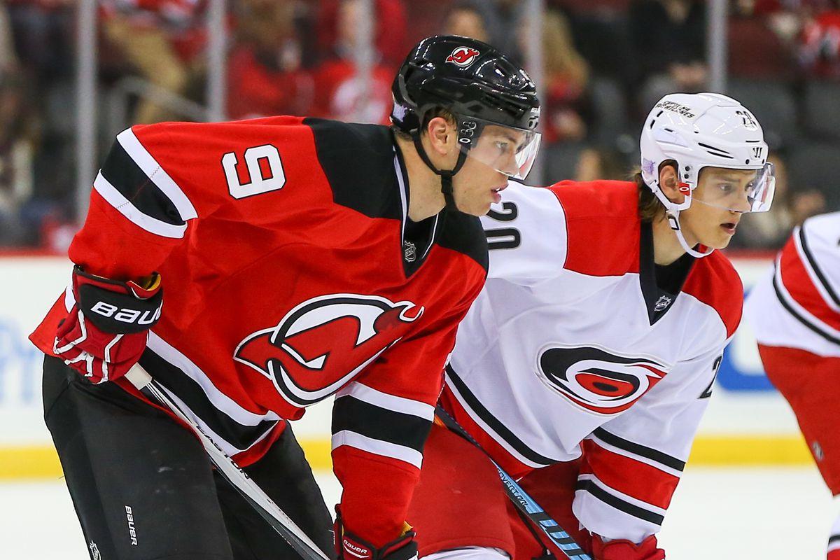 NHL: NOV 08 Hurricanes at Devils