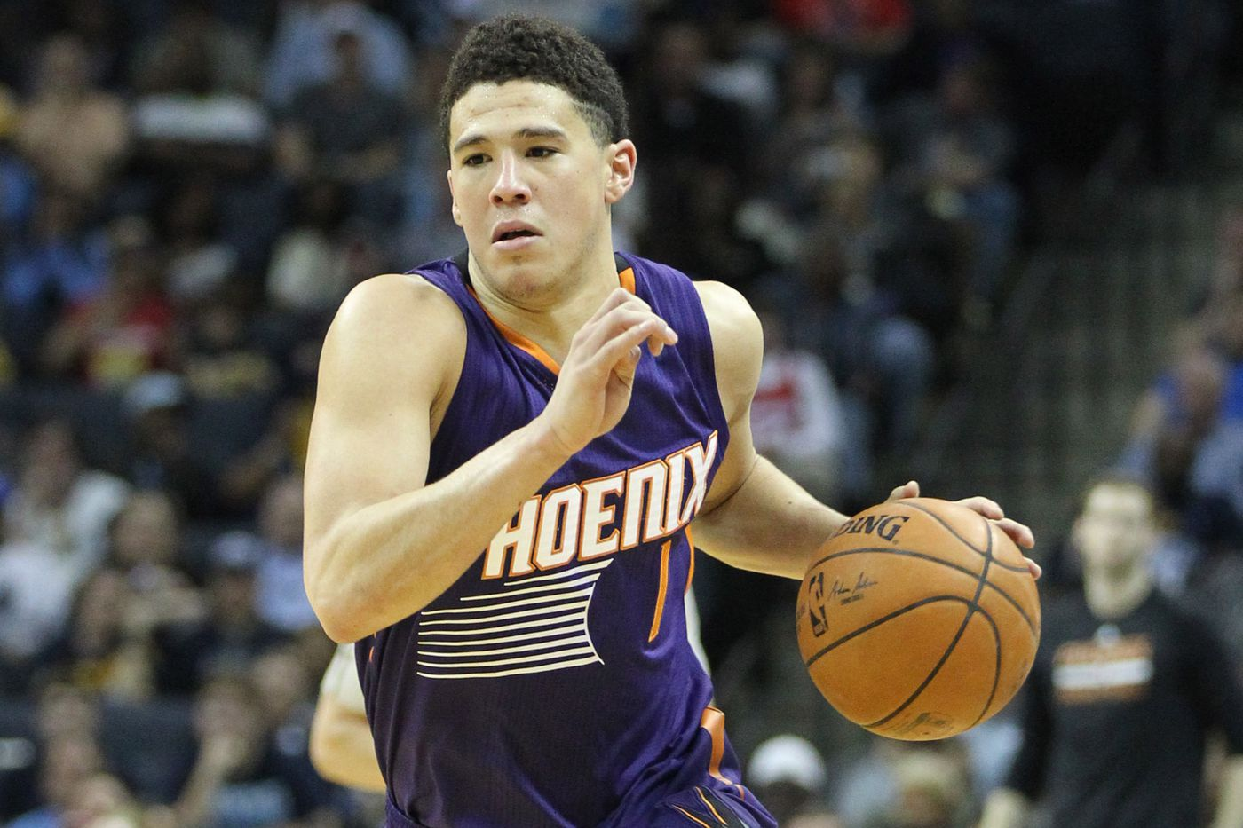 In rookie Devin Booker Phoenix Suns are watching the birth of a