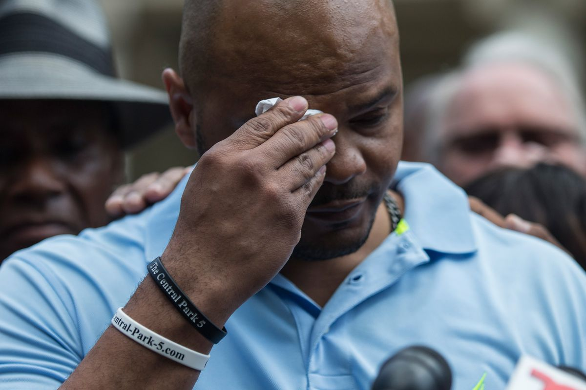 """The """"Central Park Five"""" Discuss Their Settlement With City Over Wrongful Conviction"""