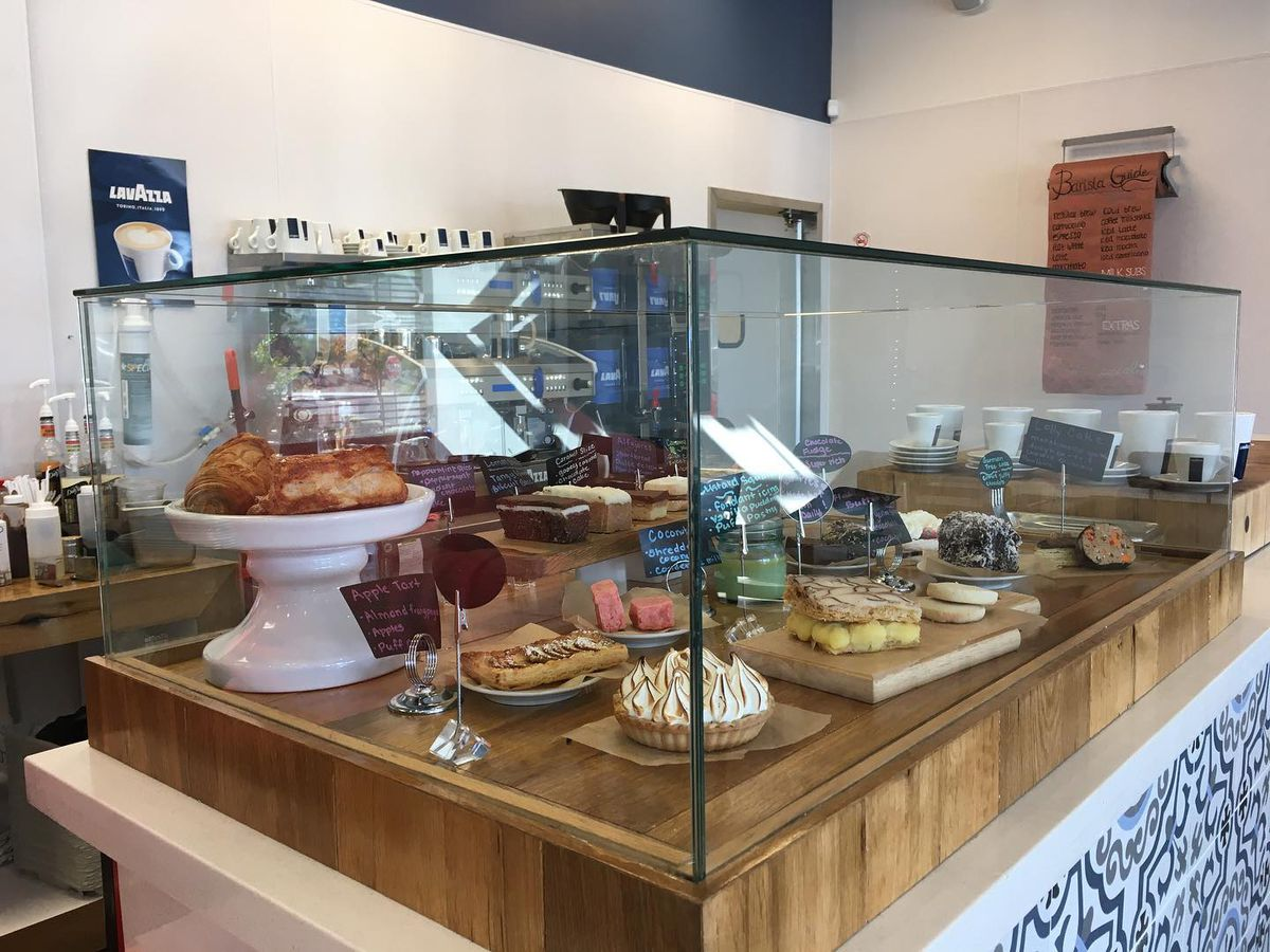 A display of pastries