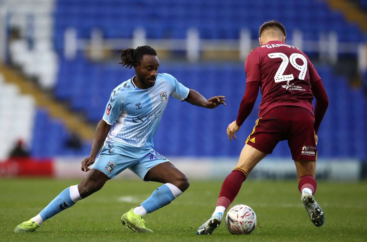 Coventry City v Ipswich Town - Emirates FA Cup - Second Round - St Andrew's Trillion Trophy Stadium