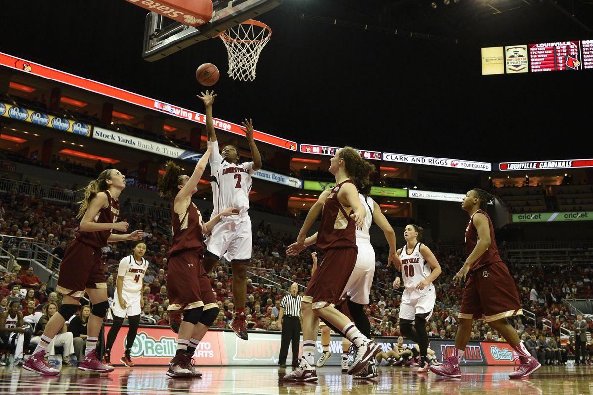 NCAA Womens Basketball: Boston College at Louisville
