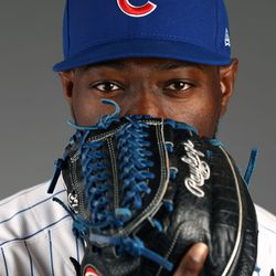 Guess who? (Nope, not telling. You'll have to guess. There's a clue on the glove)
