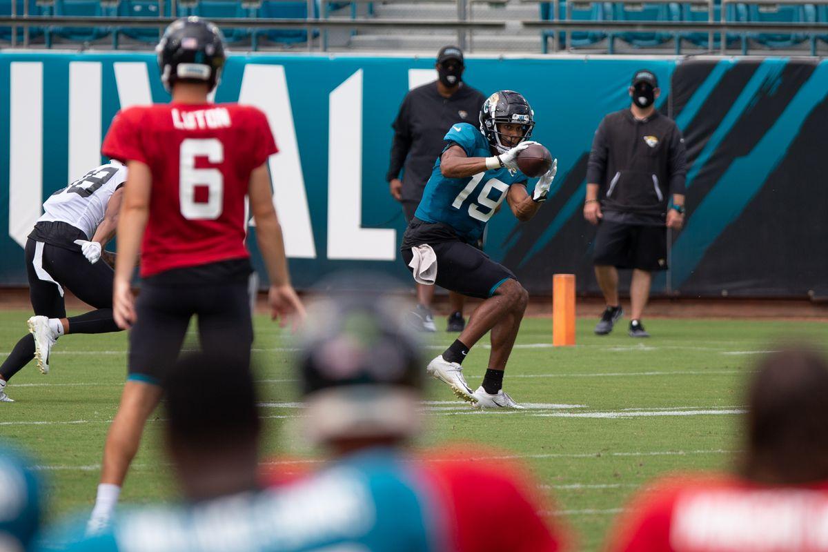 NFL: AUG 29 Jaguars Training Camp