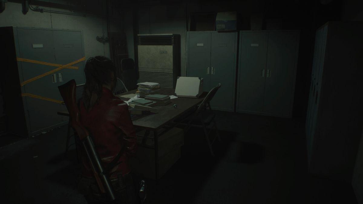 Resident Evil 2 Sewer Workers' Break Room