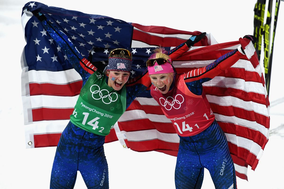 United States wins first-ever Olympic medal in women's cross-country