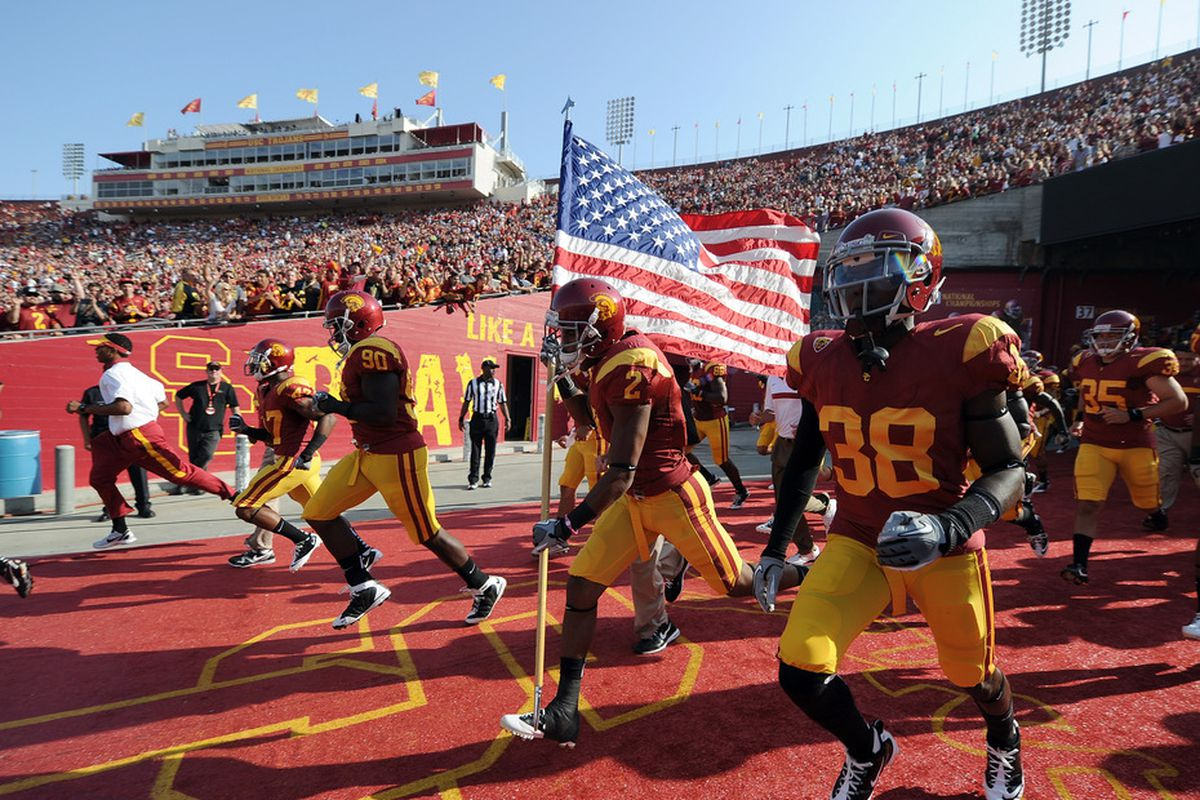 USC won the first official Pac-12 Conference game (despite the fact that we had already played against Cal)