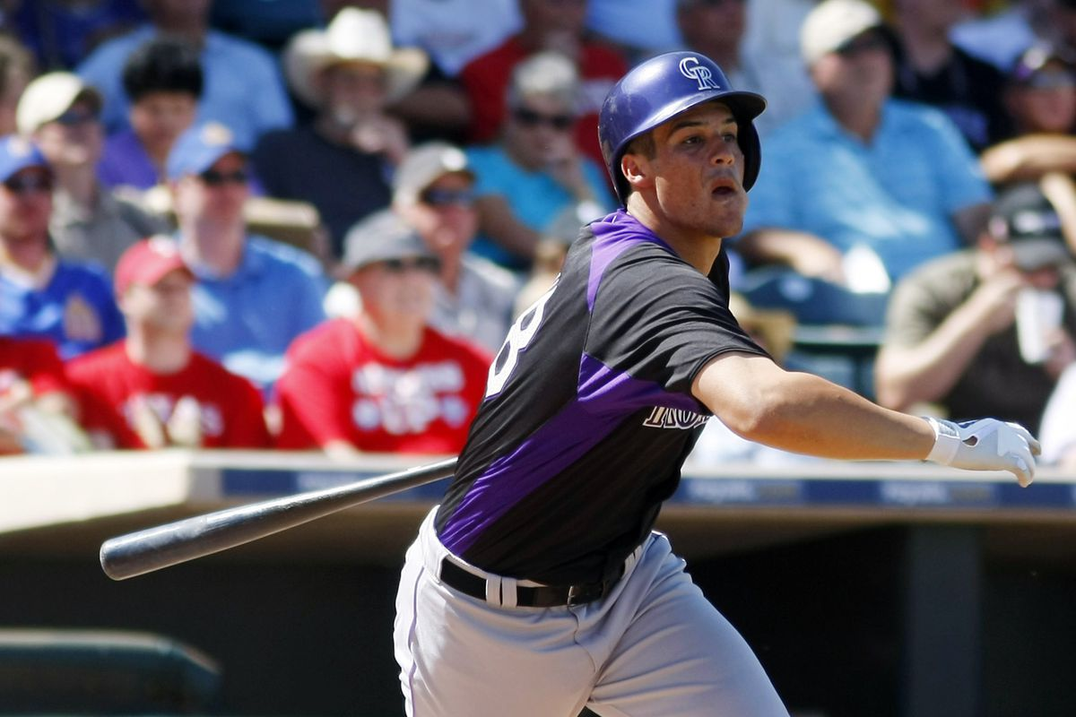 Nolan Arenado, pictured above, is one reason the Rockies can succeed in 2013.