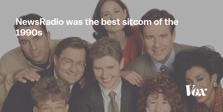 Sitcom That Dare Not Speak Its Real >> Newsradio Was The Best Sitcom Of The 1990s Vox