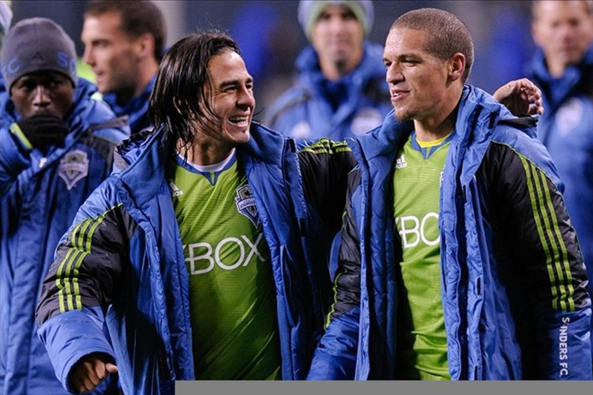 Entering the 2012 MLS season the expectations for the Seattle Sounders are high league wide. Mandatory Credit: Steven Bisig-US PRESSWIRE