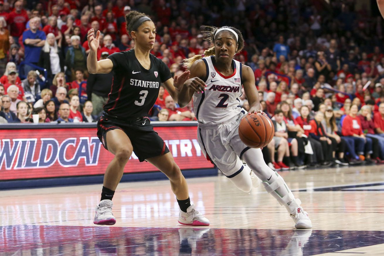 COLLEGE BASKETBALL: FEB 28 Women's Stanford at Arizona