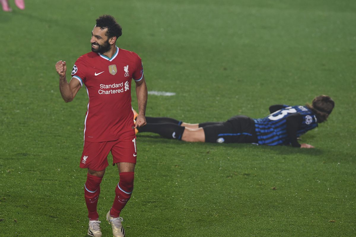 mohamed salah very proud to tie steven gerrard for lead in uefa champions league goals the liverpool offside uefa champions league goals