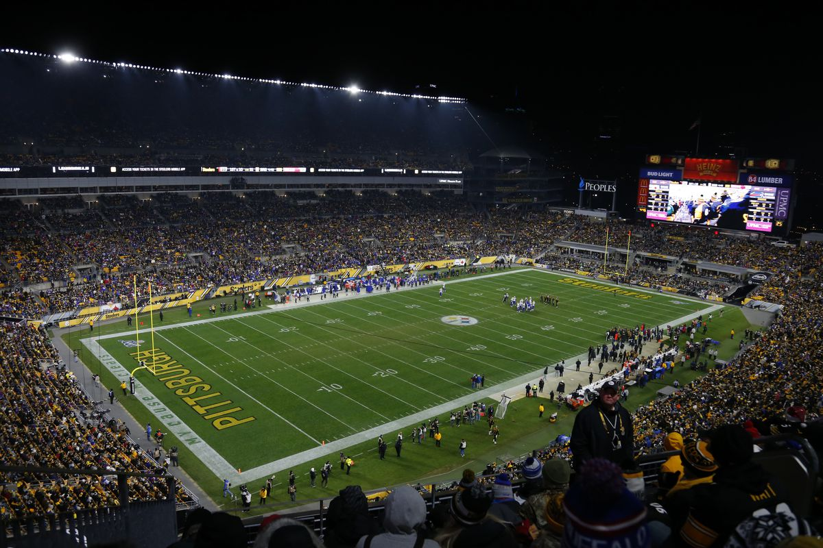 A general view of Heinz Field during the game between the Pittsburgh Steelers and the Buffalo Bills on December 15, 2019 at Heinz Field in Pittsburgh, Pennsylvania.