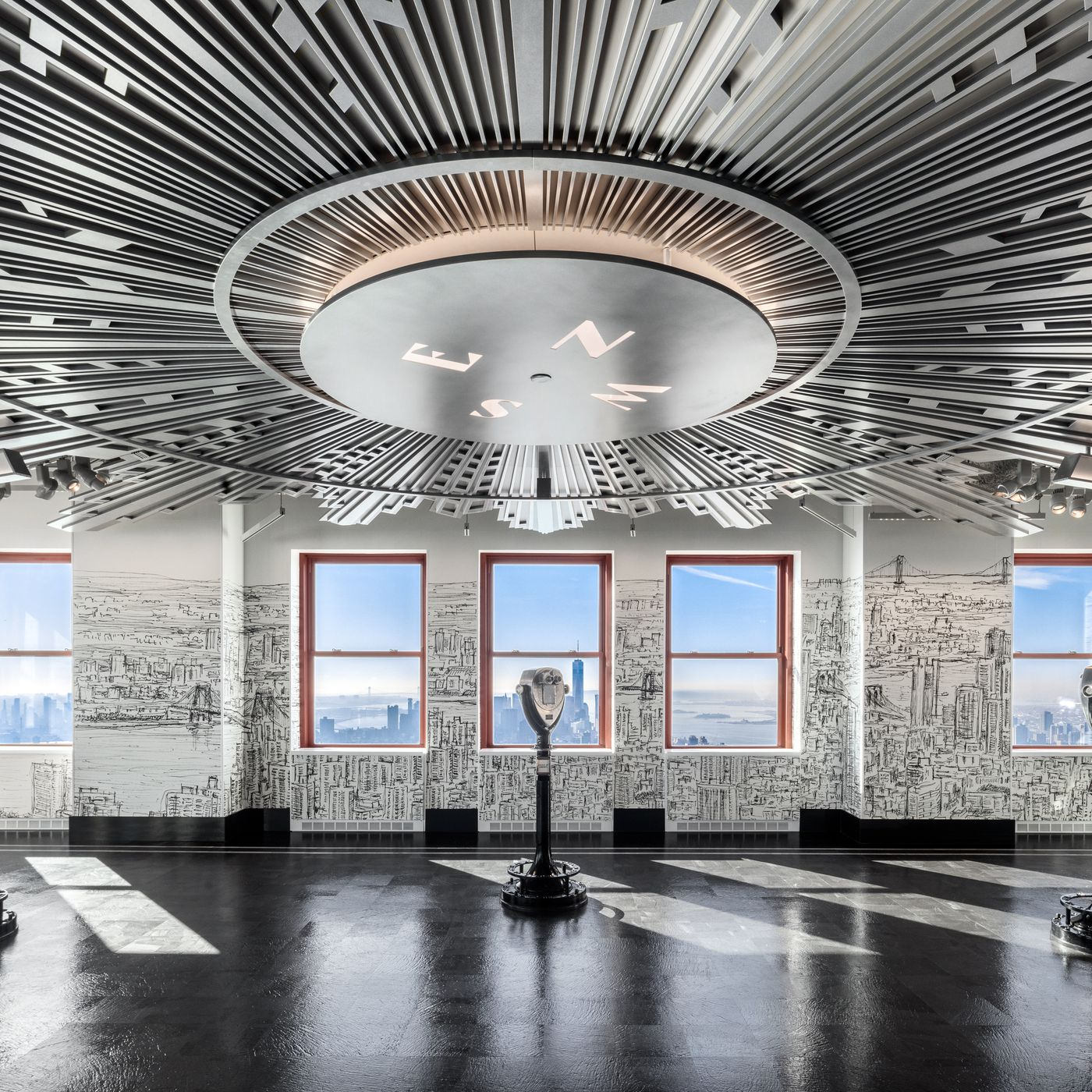 Empire State Building Completes 165m Revamp With New Observatory Curbed Ny