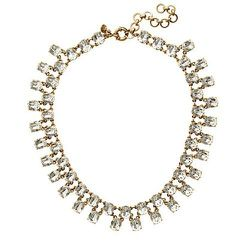 """<strong>J. Crew</strong> Double-Row Crystal Necklace, <a href=""""http://www.jcrew.com/womens_category/jewelry/necklaces/PRDOVR~A1138/A1138.jsp"""">$78</a> (reg. $98)"""