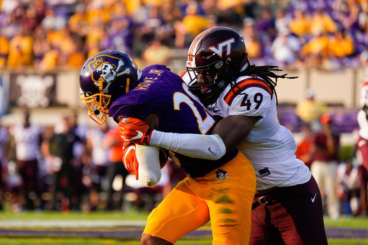 NCAA Football: Virginia Tech at East Carolina