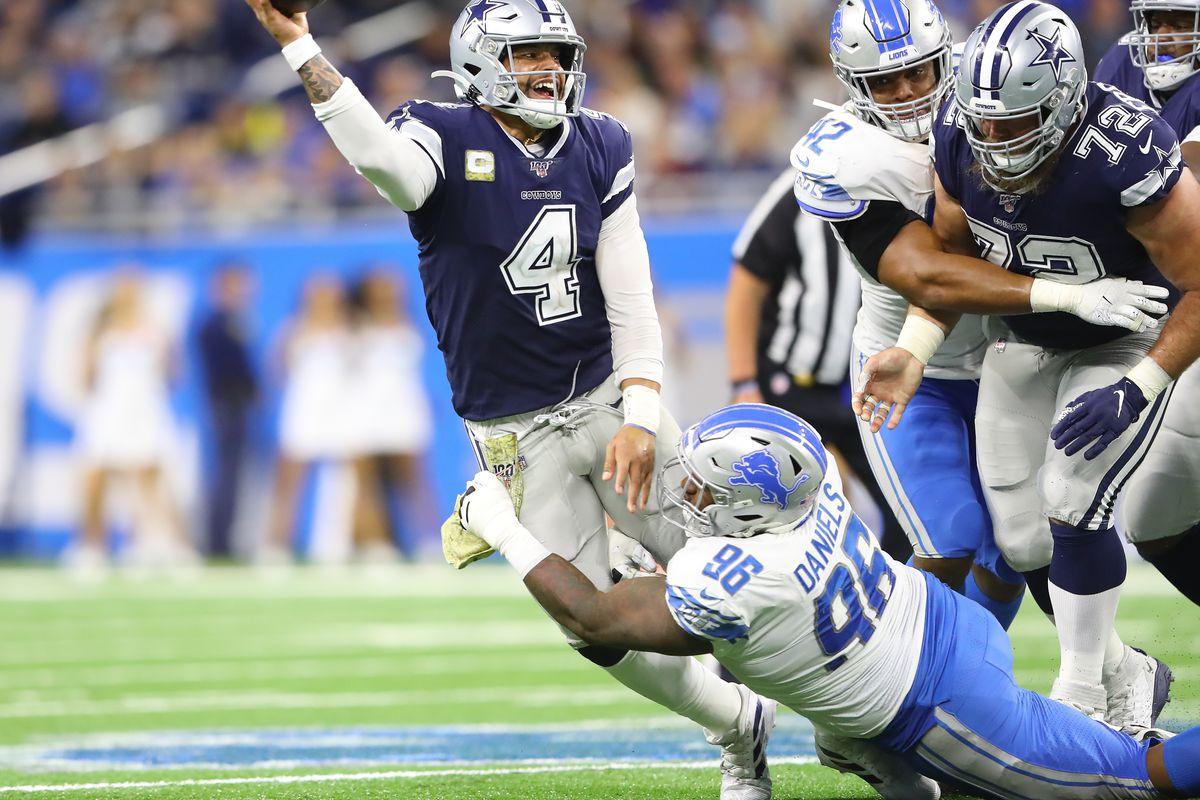 Dallas Cowboys v Detroit Lions