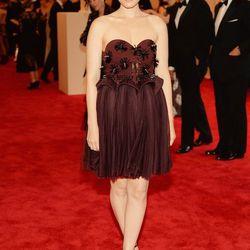 Kate Mara in a custom Delpozo design