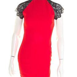 """<strong>Bobbles & Lace</strong> Lace Dress, <a href=""""http://shop.bobblesandlace.com/W12-DRS-L5968.html"""">$64</a>"""