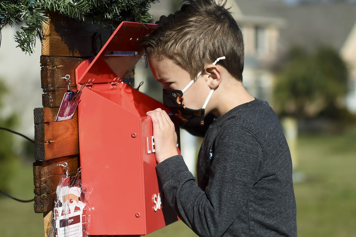 Family Puts Mailbox In Front Yard For Letters To Santa