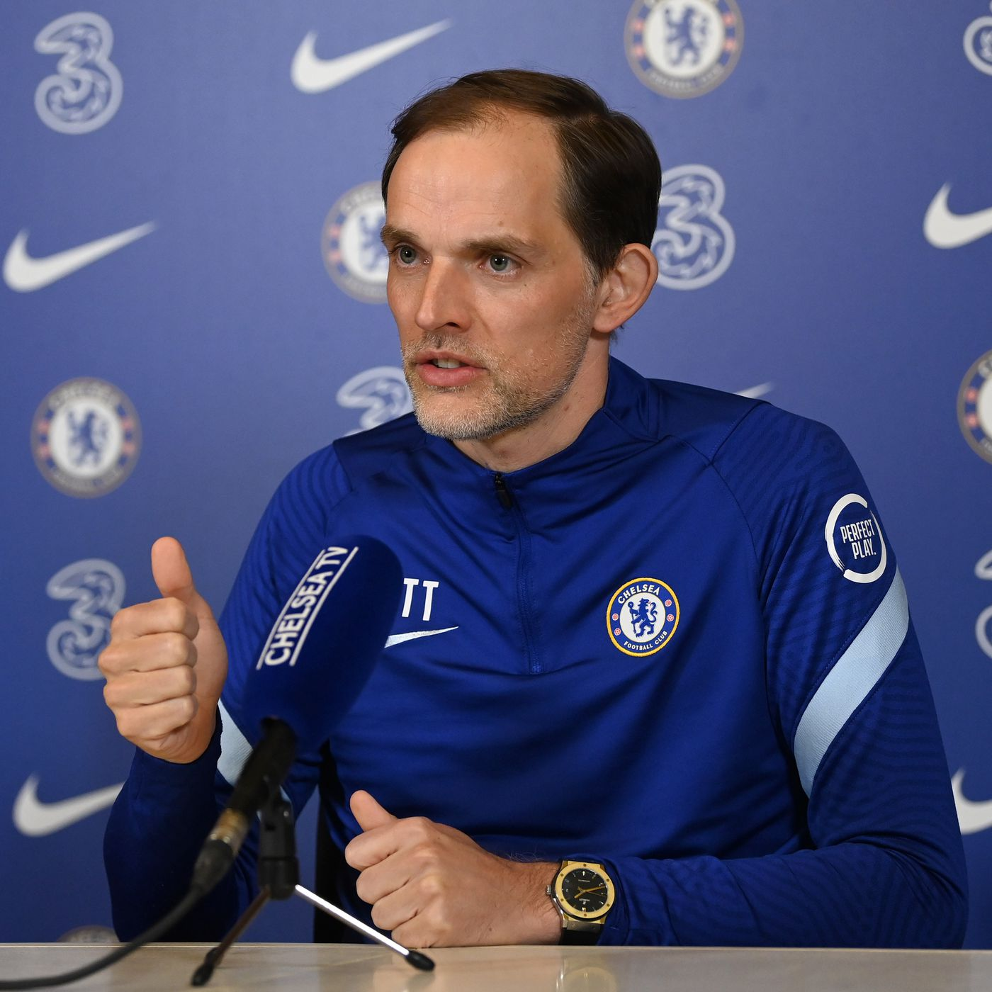Thomas Tuchel named Premier League Manager of the Month - We Ain't Got No  History