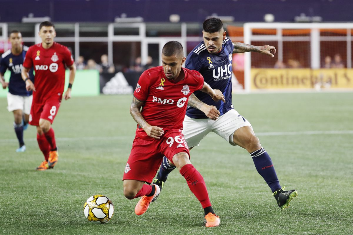 SOCCER: AUG 31 MLS - Toronto FC at New England Revolution