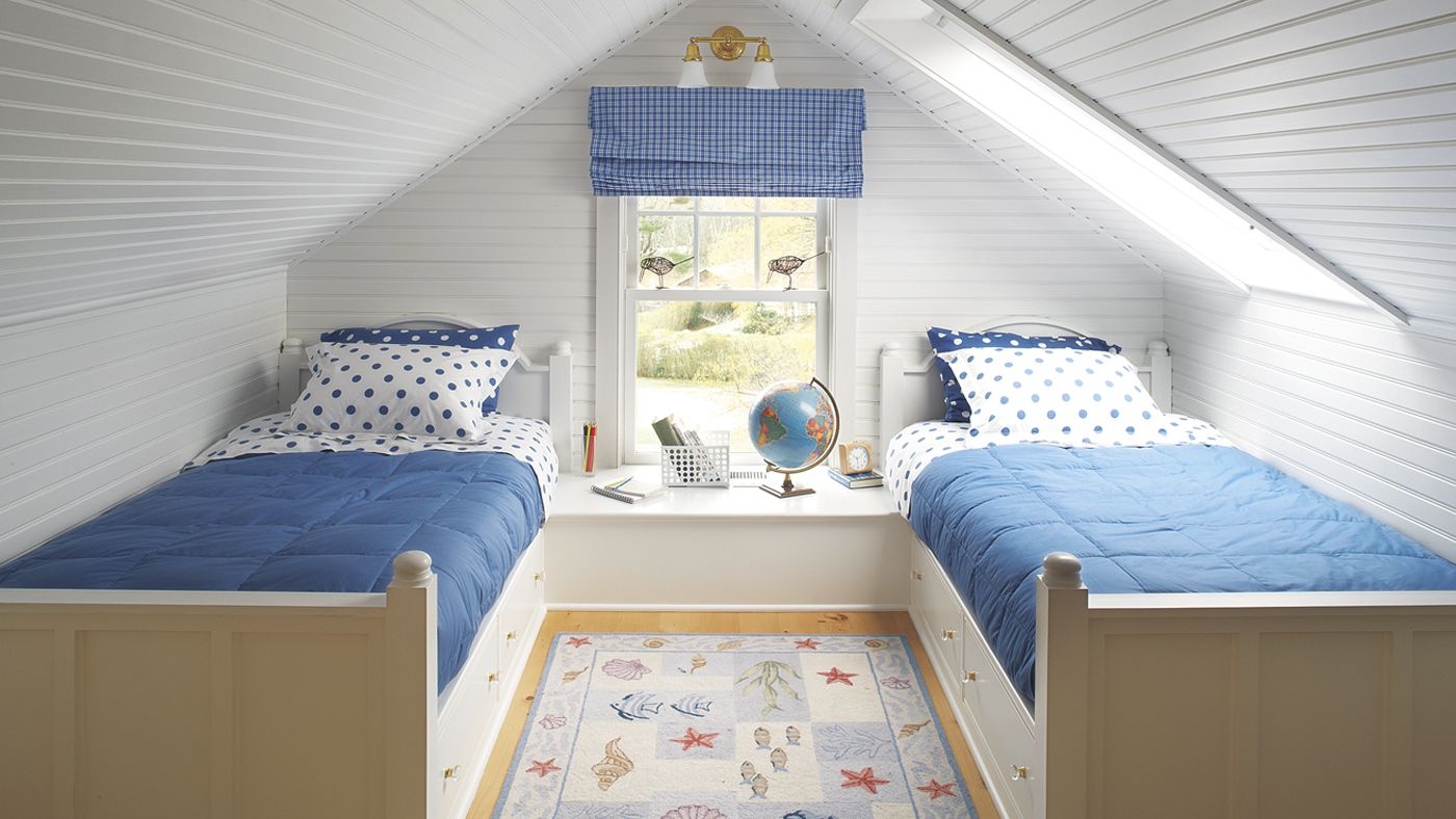 An Attic Turned Ultimate Kids' Bedroom Suite - This Old House