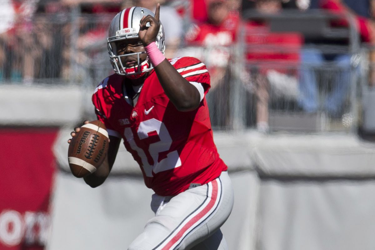 Another solid performance by Cardale Jones as he remains the starter against Penn State.