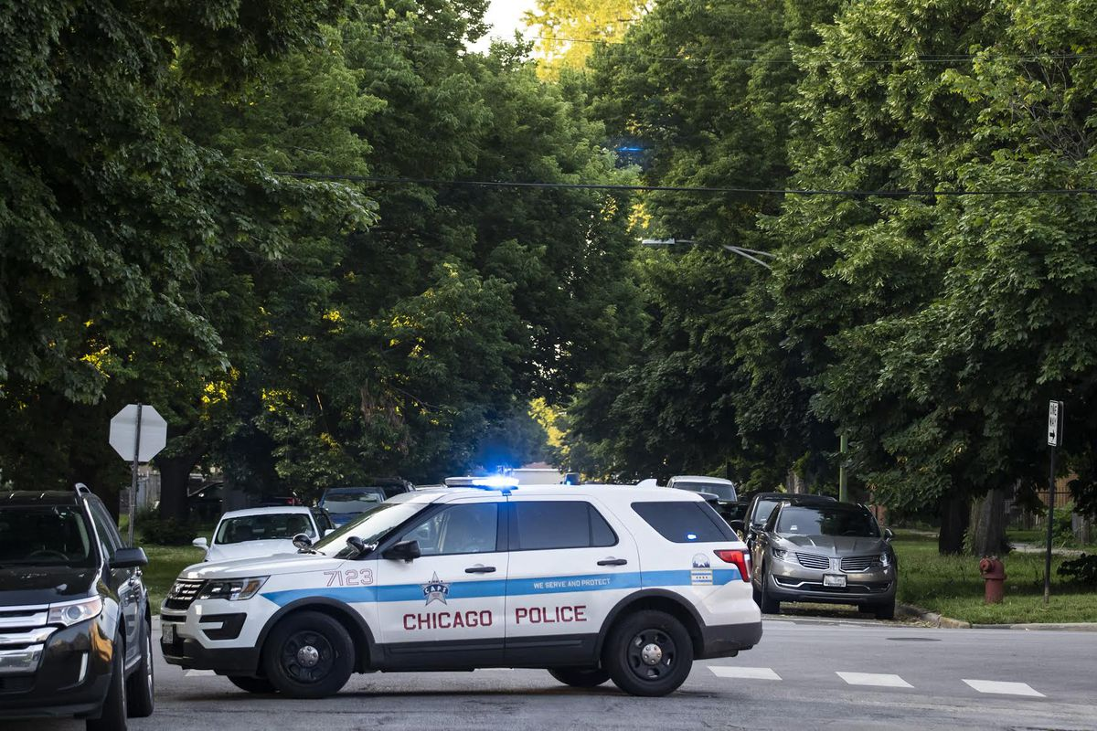 Two people were shot, one fatally, May 2, 2021, in Humboldt Park.