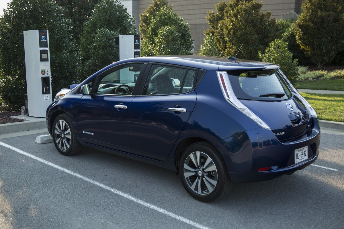 Leaked Photos Of New All Electric Leaf Provide First Look At Nissan S Tesla