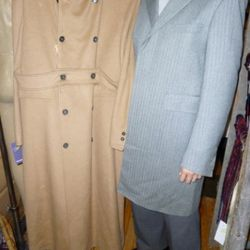 $150 Brooks Brothers coat at Housing Works