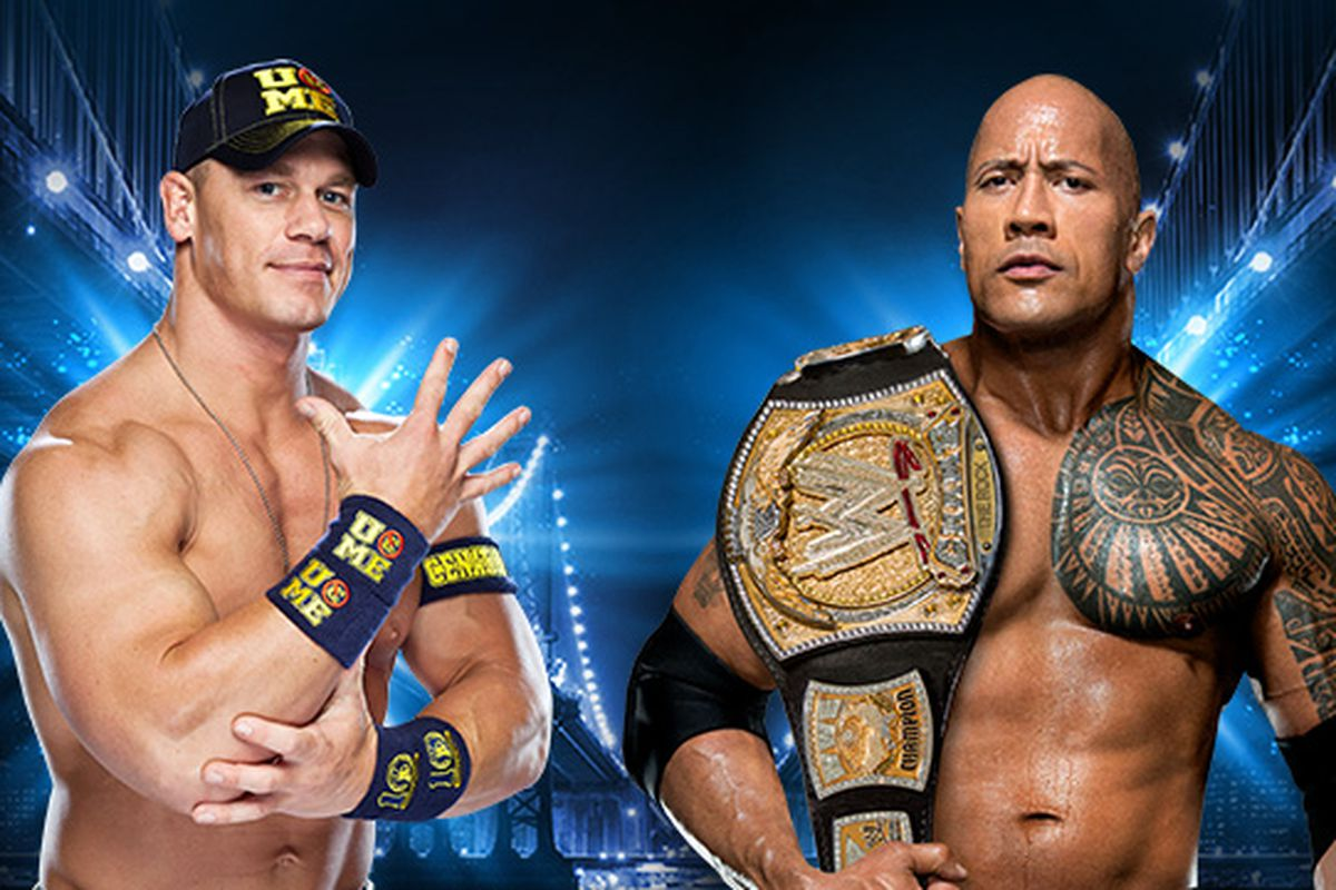 Images Of The Rock Wwe: The Rock Vs. John Cena Official For WrestleMania 29 Main