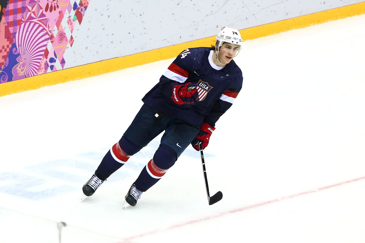 T.J. Oshie may have a date with a Wheaties box cover.