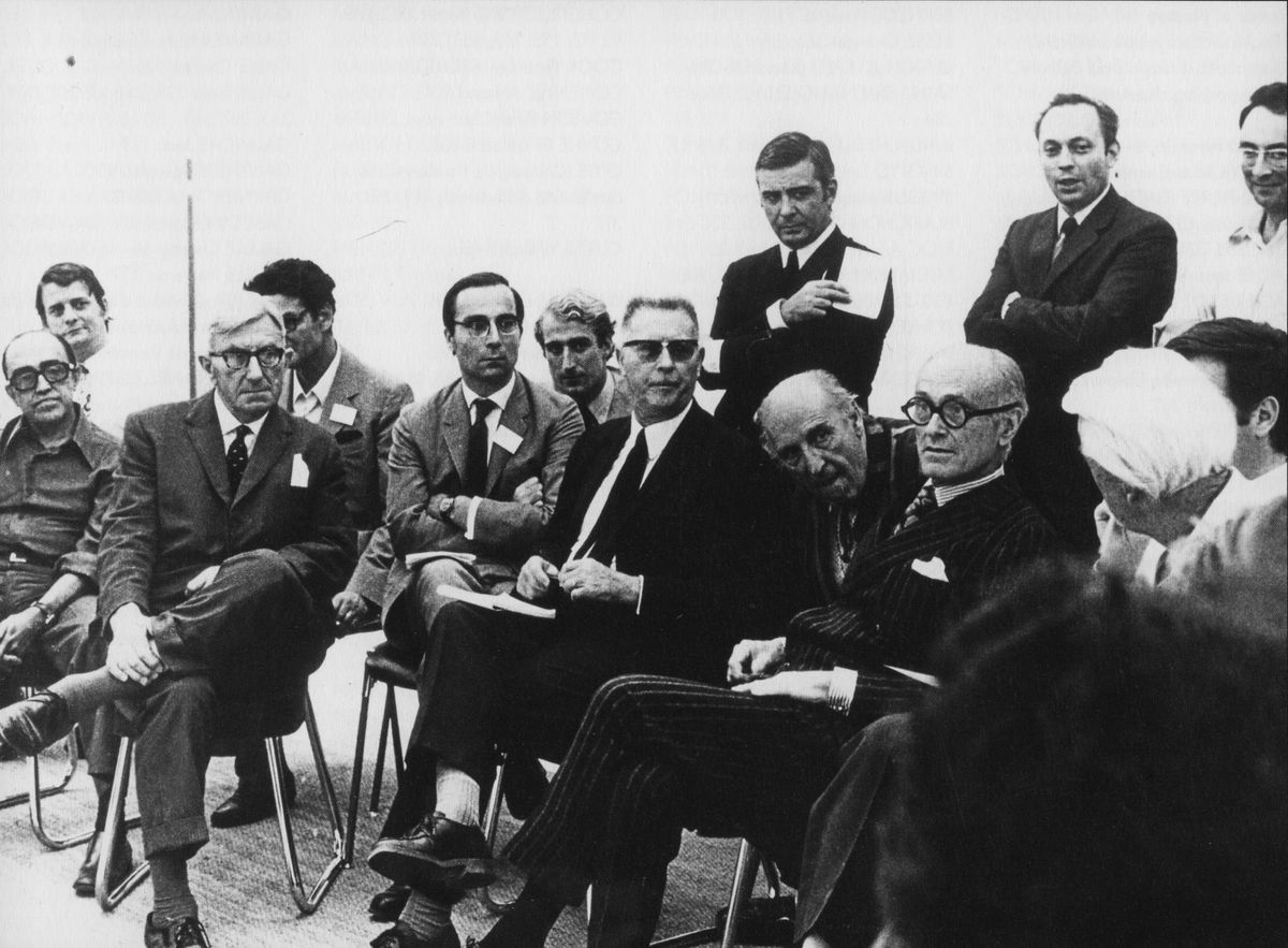 Competition jury for the Pompidou