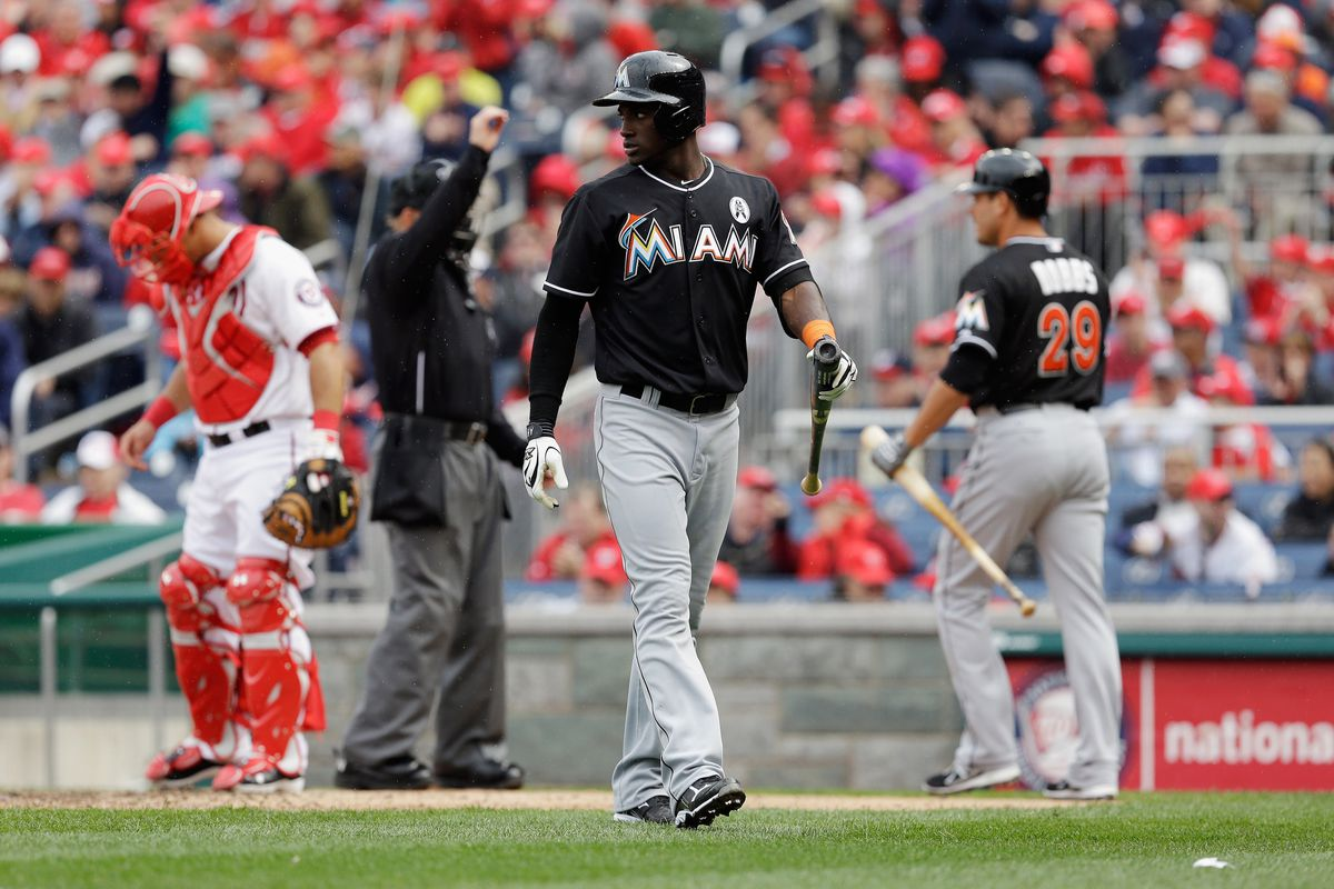 The Miami Marlins are high on Adeiny Hechavarria's chances of developing at the plate.