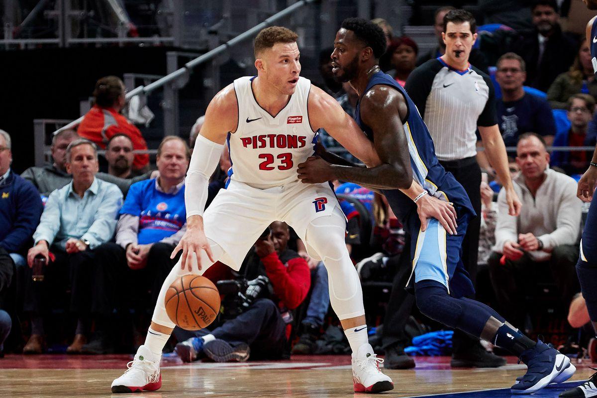 Blake Griffin: Kẻ cứu rỗi Detroit Pistons