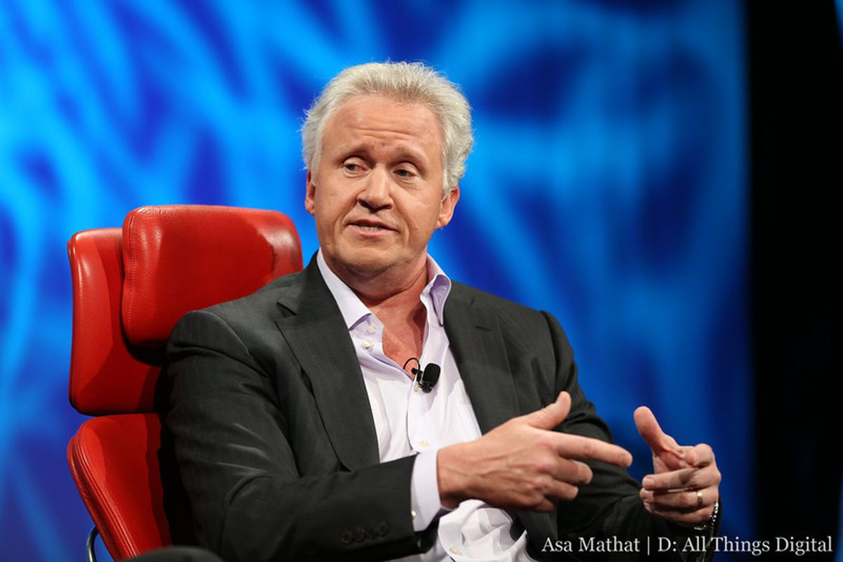 Former GE CEO Jeff Immelt onstage at the AllThingsD conference 2013