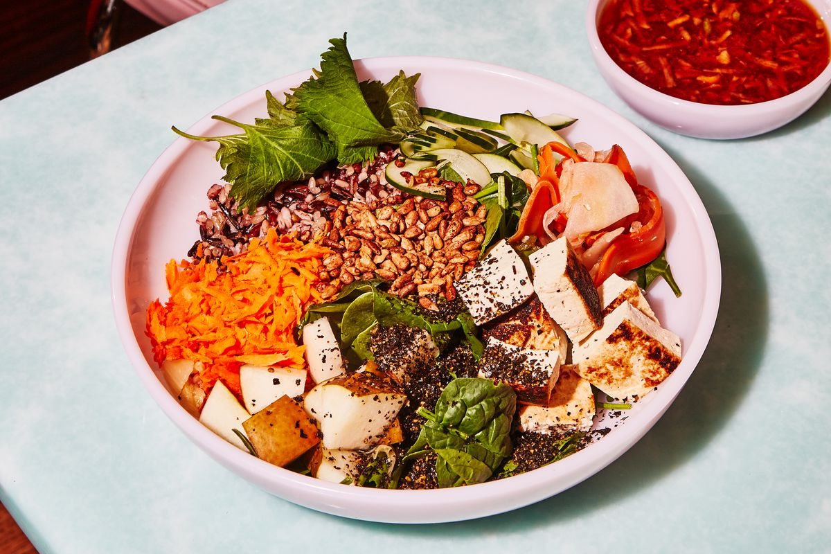 The Mission Chinese bowl at Sweetgreen