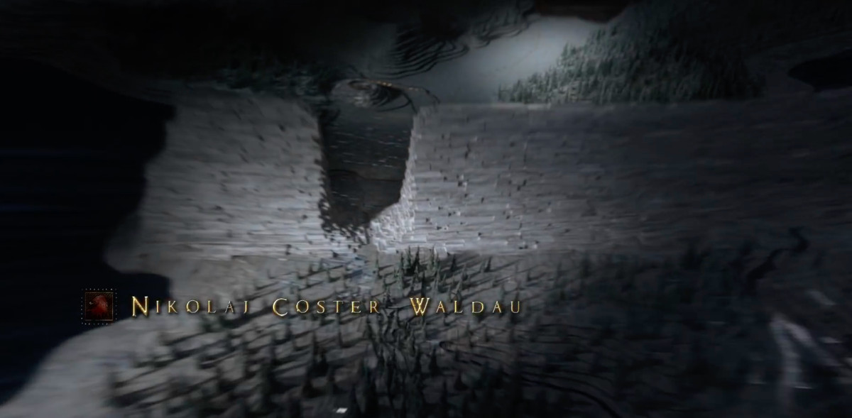the wall with hole - game of thrones season 8 credits