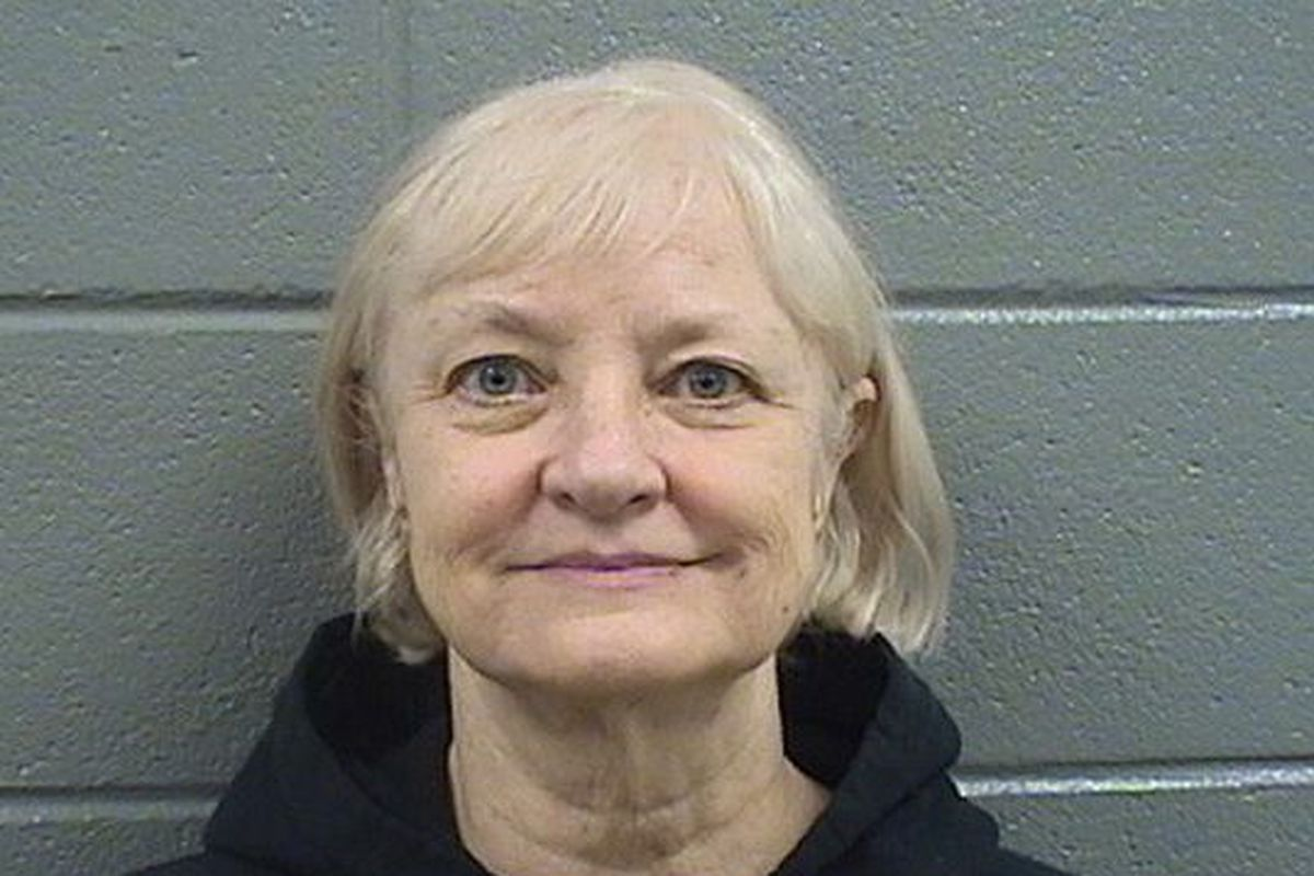 Marilyn Hartman, 68, remains jailed after her October arrest at O'Hare Airport, a visit that violates terms of her probation for sneaking onto a flight to London.