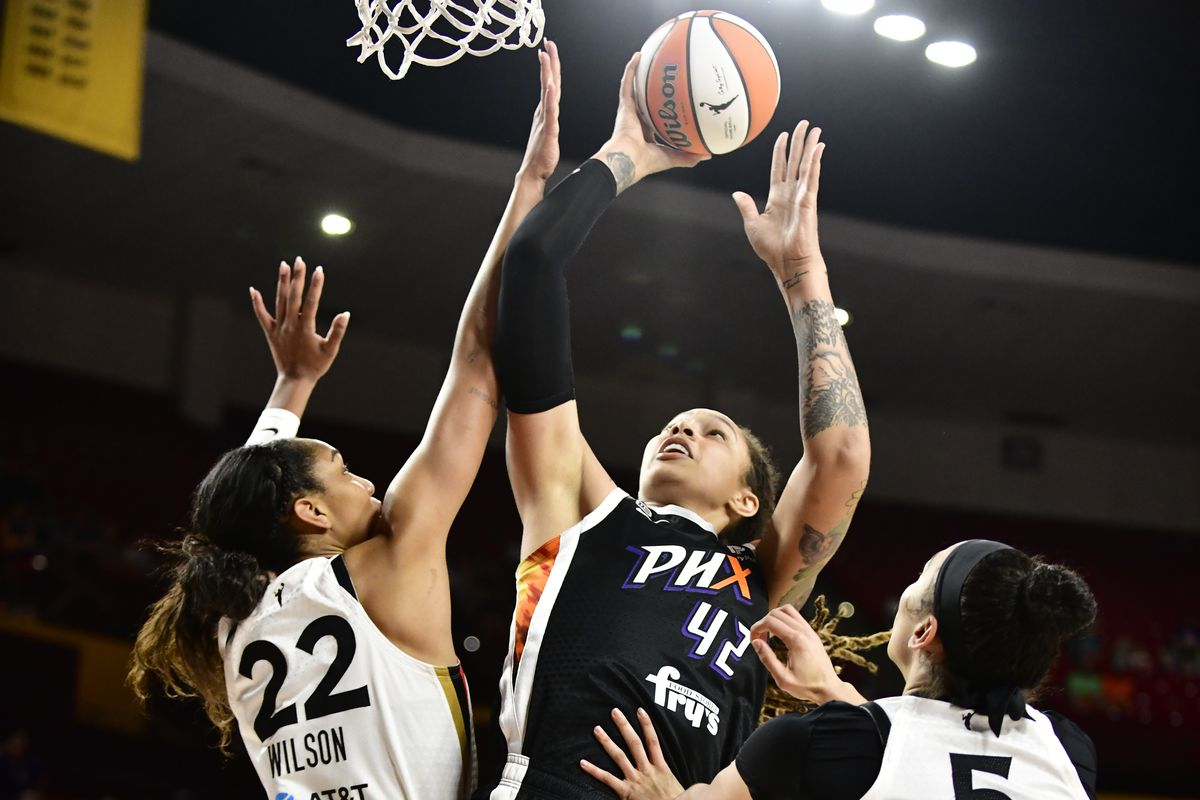 2021 WNBA Semifinals - Las Vegas Aces v Phoenix Mercury