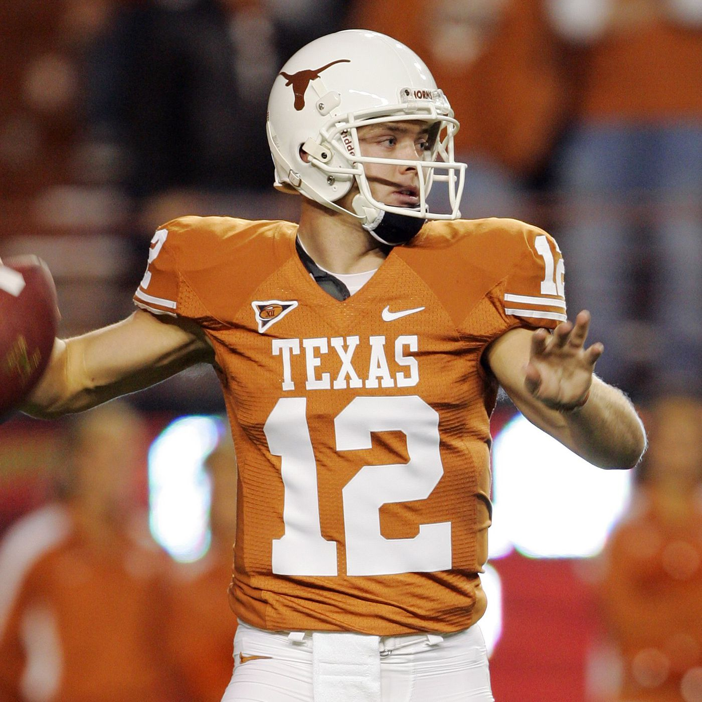 new style d0081 1b7f3 Colt McCoy opens up about the 'normal' hit that altered the ...