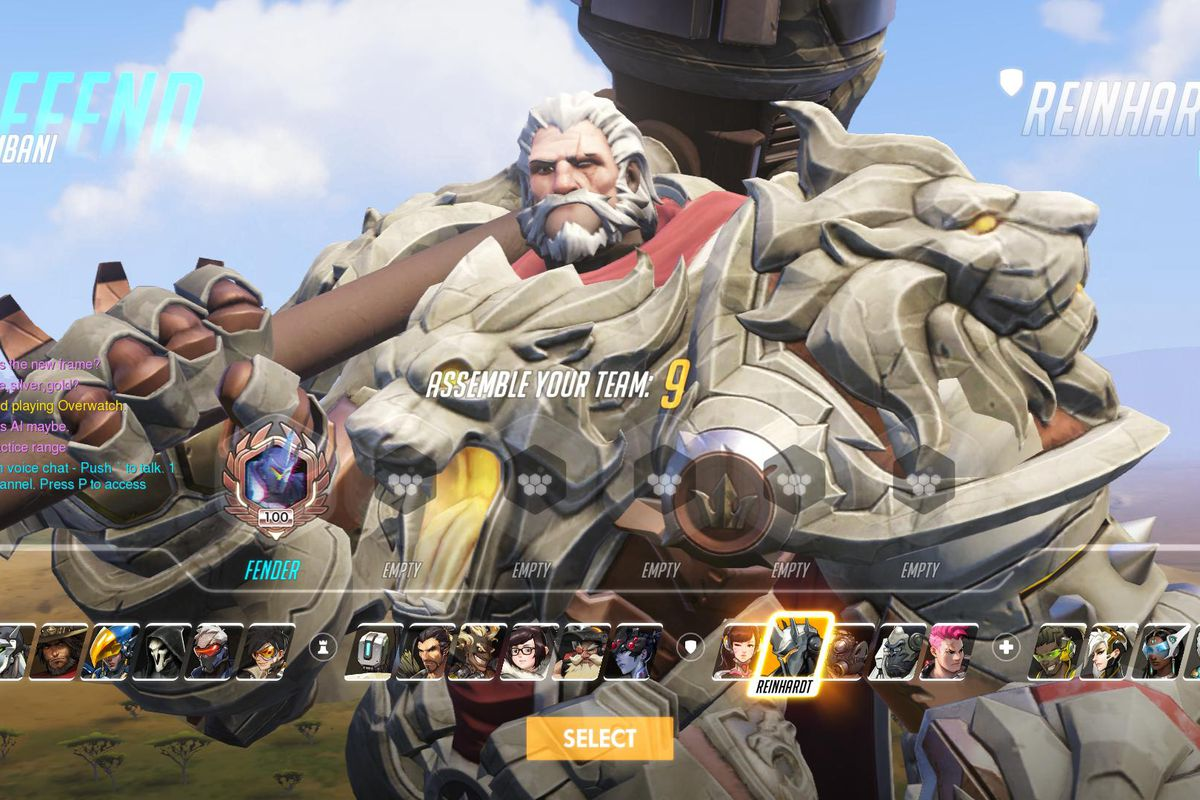 overwatch player reaches level 100 one week after launch polygon
