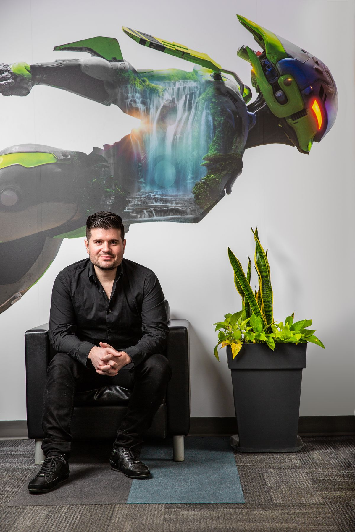 photo of BioWare's Mike Gamble