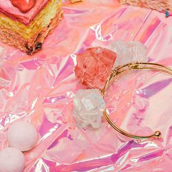 CuRious by Cynthia Rowley rock candy jewelry set, $24