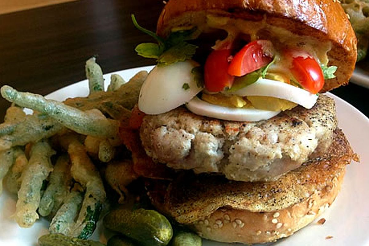 The Tuna Burger from PYT