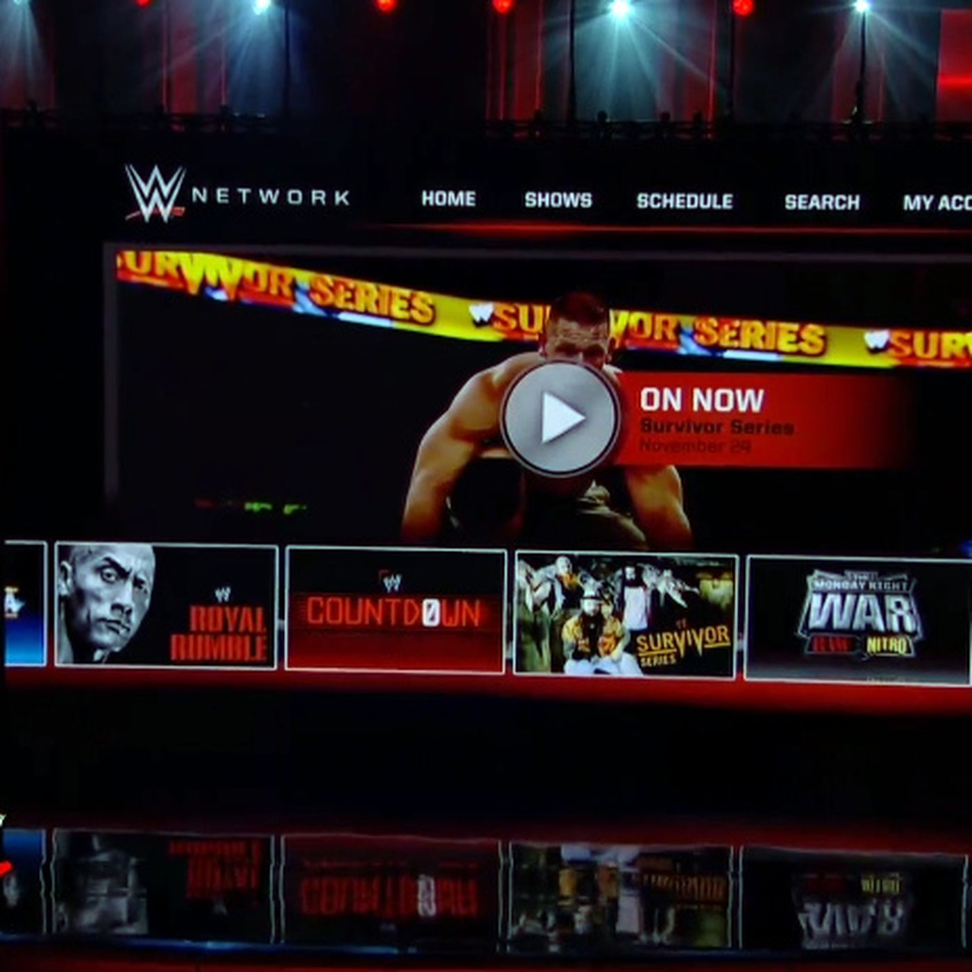 Sign in network password wwe Contact Us